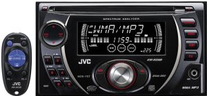 Double DIN CD Receiver - KW-XG500 - Introduction