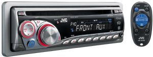 CD Receiver with Front AUX - KD-G340 - Features