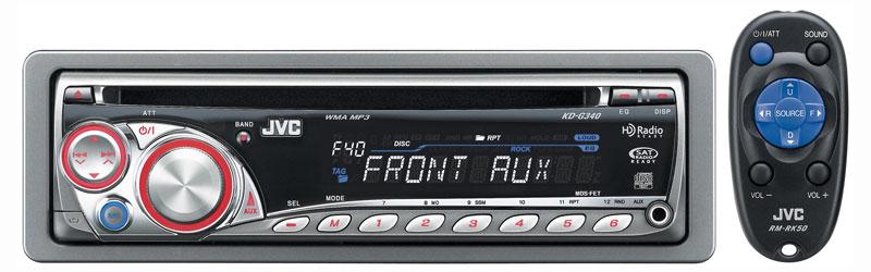 JVC G340 Car Stereos