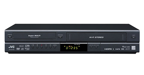 Tunerless DVD Video Recorder & VHS Hi-Fi Stereo Video Recorder Combo