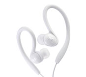 Sports in-ear clip headphones - HA-EBX85-W