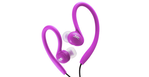 Sports in-ear clip headphones - HA-EBX85-V