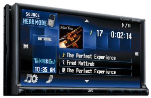 Double-DIN A/V Receiver w/ 7