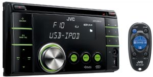 Double-DIN USB/CD Receiver w/ front AUX - KW-XR610 - Introduction
