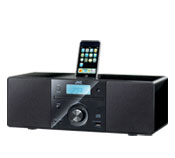 Micro System with CD and top mount iPod dock. - RD-N1