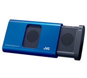 Color matching portable stereo speakers for iPod