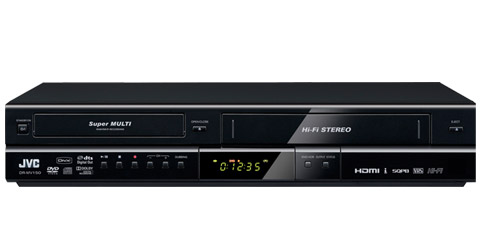 DVD Video Recorder & VHS Hi-Fi Stereo Video Recorder Combo - DR-MV150B