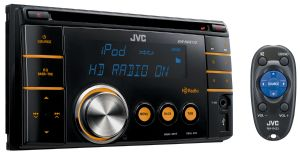 HD Radio Double-DIN Receiver - KW-HDR720 - Introduction