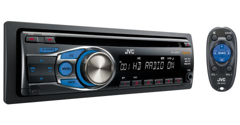 Single-DIN HD Radio CD Receiver