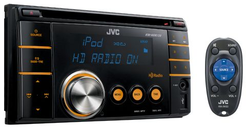 HD Radio Double-DIN Receiver