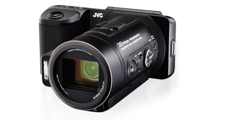 HD Memory Camera - GC-PX10US - Features