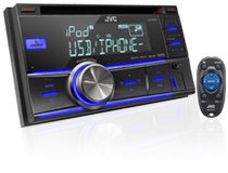 KW-R500 Double DIN Receiver