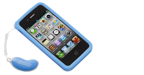 Gumy case for iPhone 4S/iPhone 4 - AC-GP4S