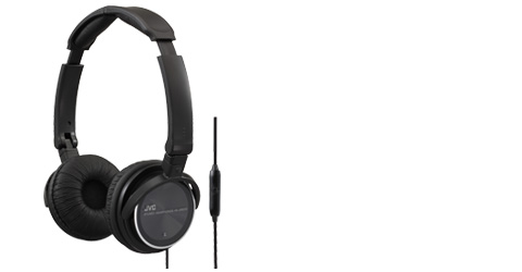 Lightweight Headphones with Remote and Mic - HA-SR500