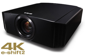 4K e-shift2 D-ILA Projector - DLA-X55R - Introduction