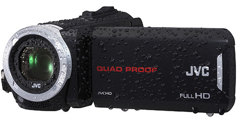 Quad Proof Everio HD Camcorder - GZ-R30B - Features