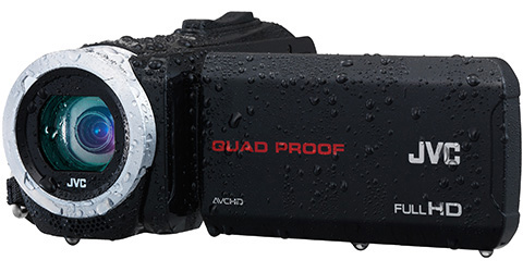 Quad Proof Everio HD Camcorder - GZ-R10B - Features