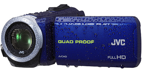Quad Proof Everio HD Camcorder - GZ-R10A - Features