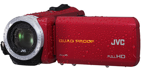 Quad Proof Everio HD Camcorder - GZ-R10R - Features