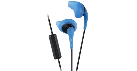Gumy Sport Ear Bud with Mic/Remote - HA-ENR15