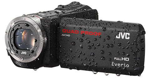 Quad Proof Everio HD Camcorder - GZ-R320B - Features