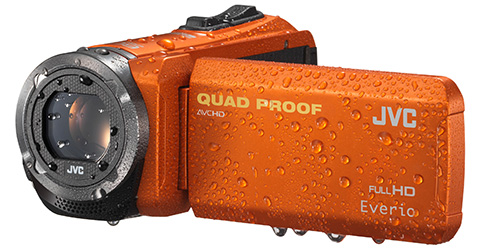 Quad Proof Everio HD Camcorder - GZ-R320D - Features