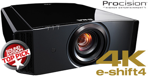 4K e-shift4 D-ILA Projector - DLA-X550R - Specifications