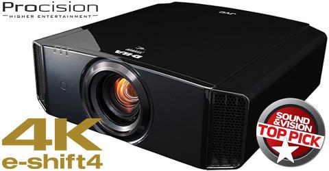 4K e-shift4 D-ILA Projector - DLA-X750R - Overview