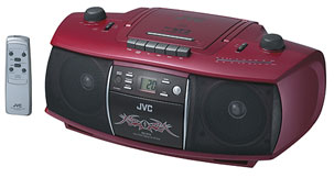 Boom Boxes - RC-ST2 (RED) - Introduction