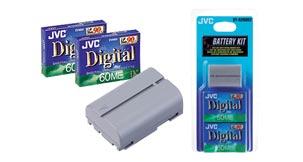 Mini-DV battery and tape kit - BT-A208KIT - Introduction