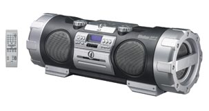 Powered Woofer CD System - RV-NB10B - Introduction