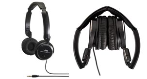 Light Weight Headphones - HA-S350B - Introduction