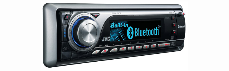 CD Receiver with Built In Bluetooth® Capability, Rear USB Port, 3D Variable Color Display, and TI/Burr-Brown 24-Bit DAC